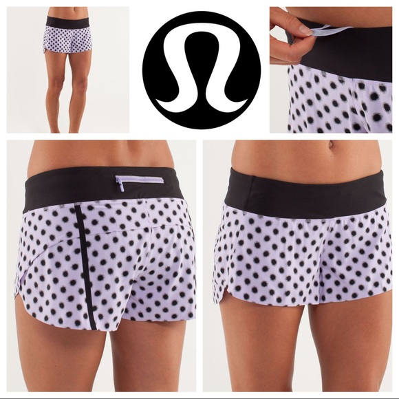 Lululemon SPECIAL EDITION Speed Short *Naked seam